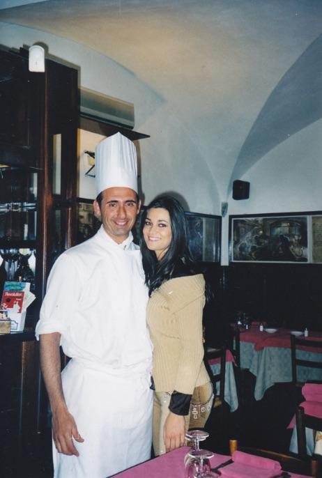 Manuela Arcuri - Vip Polpo Mario Ristorante Sestri Levante