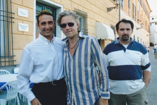 Bob Geldof - Vip Polpo Mario Ristorante Sestri Levante