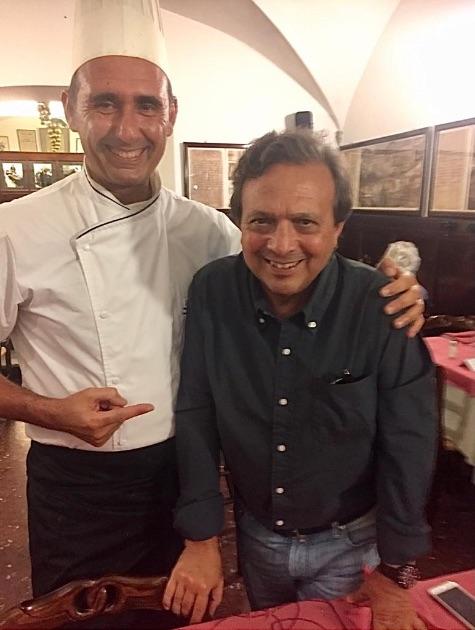 Piero Chiambretti - Vip Polpo Mario Ristorante Sestri Levante