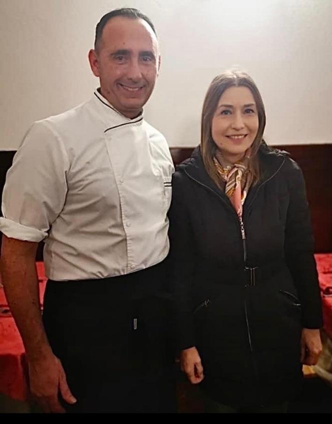 Claudia Koll - Vip Polpo Mario Ristorante Sestri Levante