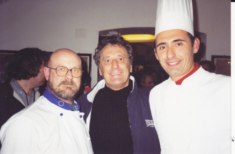 Enzo Iacchetti - Vip Polpo Mario Ristorante Sestri Levante