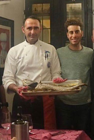 Fabio Aru - Vip Polpo Mario Ristorante Sestri Levante
