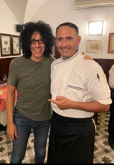 Giovanni Allevi - Vip Polpo Mario Ristorante Sestri Levante