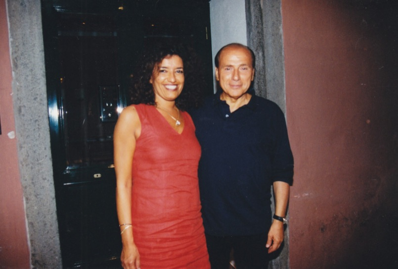 Silvio Berlusconi - Vip Polpo Mario Ristorante Sestri Levante